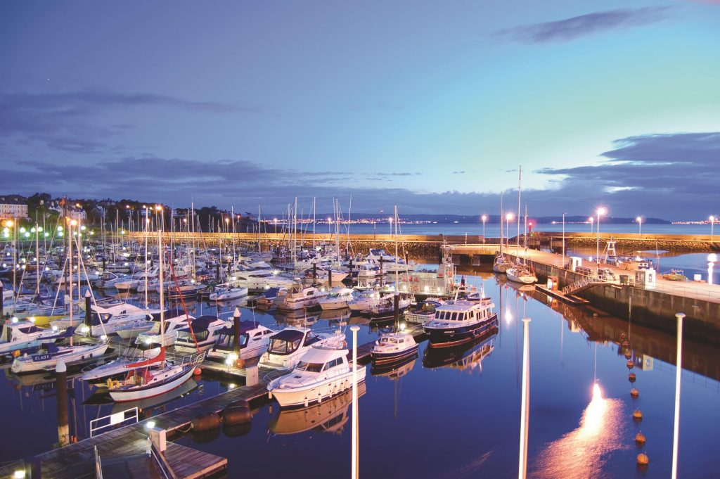 Bangor is one of Ireland's top 10 seaside towns, villages, and beaches