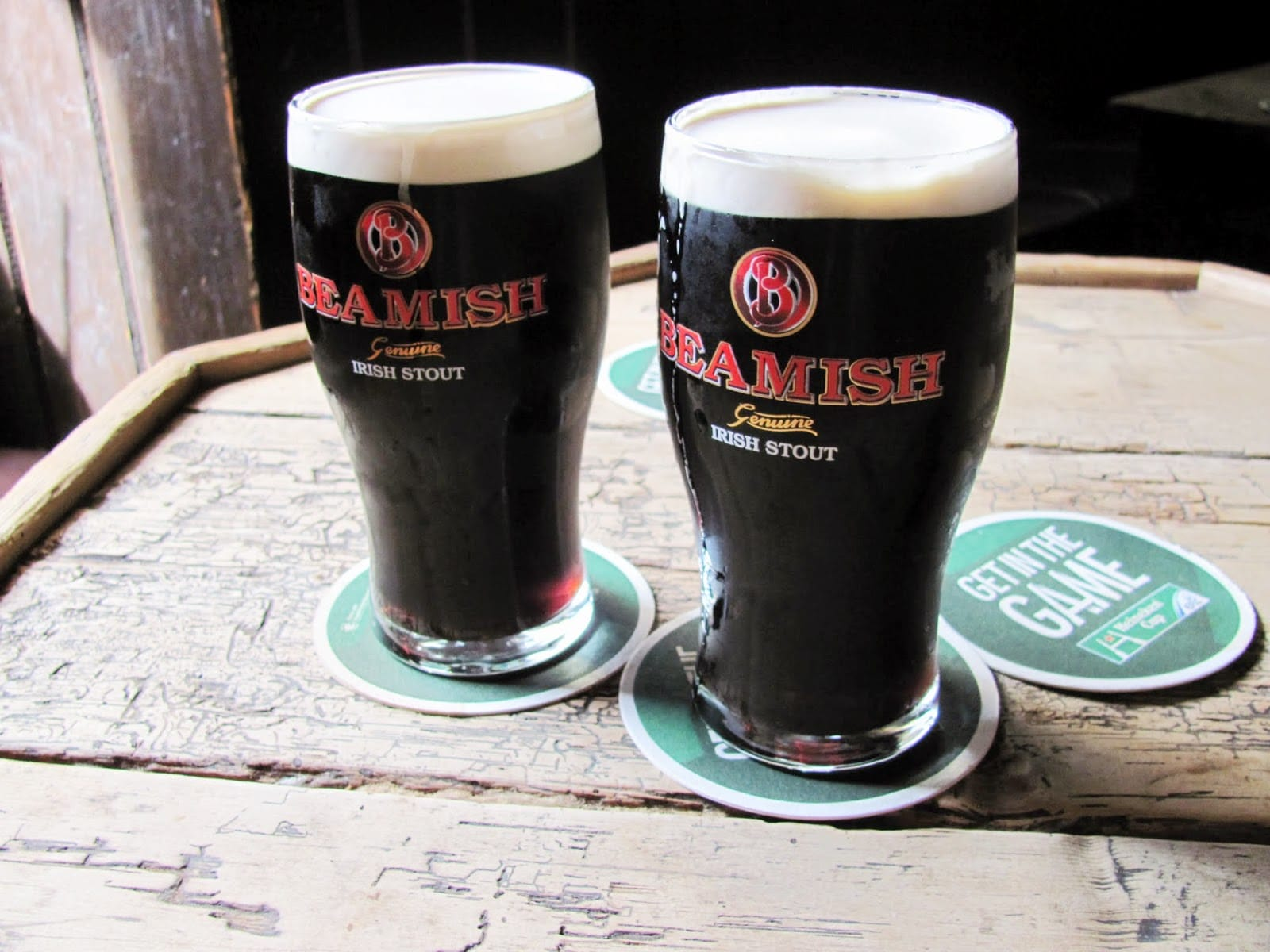 Beamish is one of the best Irish alcoholic drinks ever.