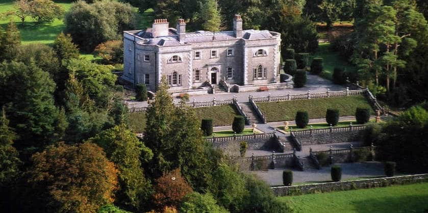 During your road trip from Dublin to Galway, check out the Belvedere House and Gardens