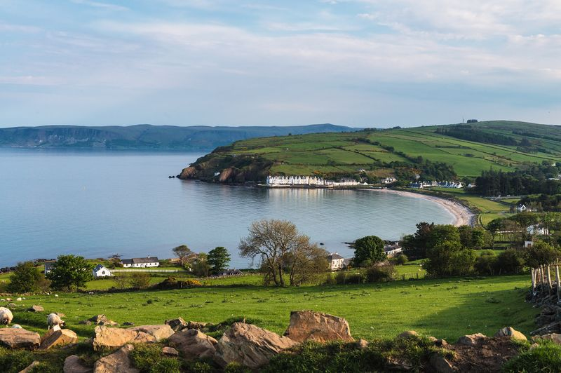 be sure to visit Cushendun and Cushendall along the way from Belfast to the Giant's Causeway.