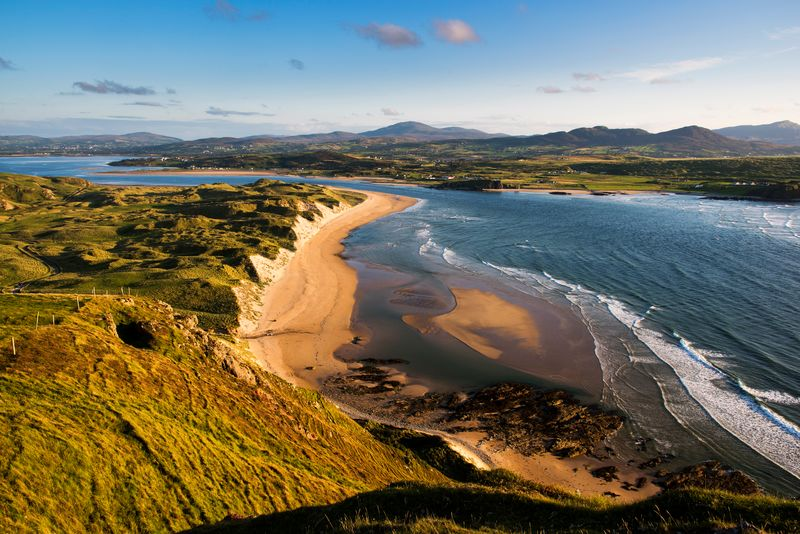 Five Fingers Strand is another of the top most beautiful beaches in Donegal.