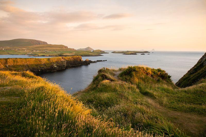 Scenic view of Bray Head on the Wild Atlantic Way    Ireland