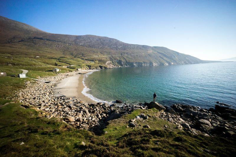 Keem Bay is one of Ireland's best seaside destinations