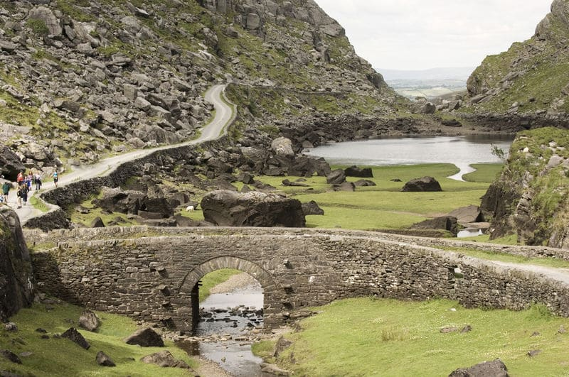 The Gap of Dunloe in County Kerry is the ultimate walking trail