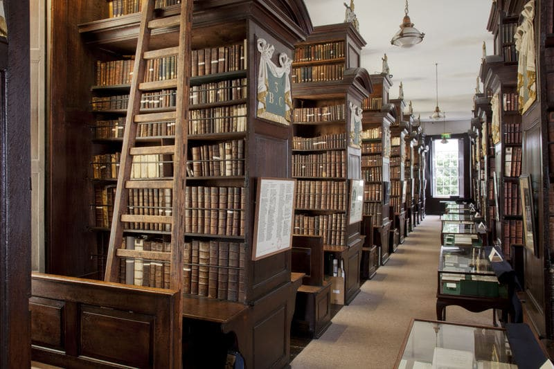 Visit Marsh's Library as an alternative to Trinity College Library in Ireland's capital