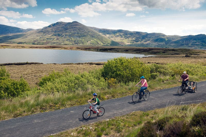 The Great Western Greenway is perfect for a scenic cycle and beautiful views, truly one of the top highlights.