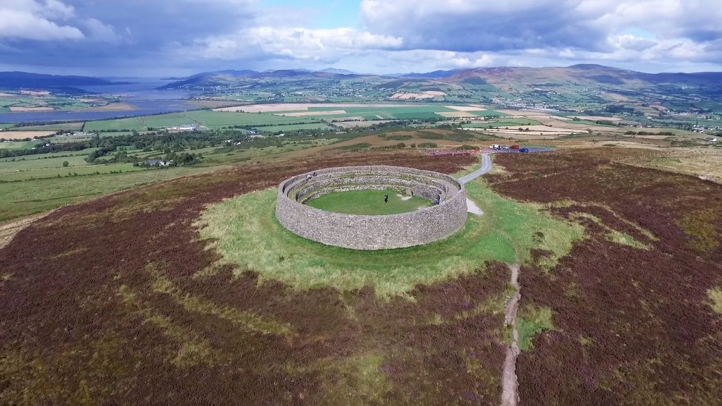 Grianan of Aileach is one of the best places to spot fairies in Ireland