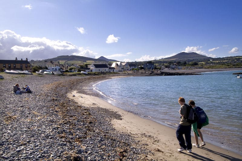 Greystones is one of 5 perfect day trips from Dublin on the DART line