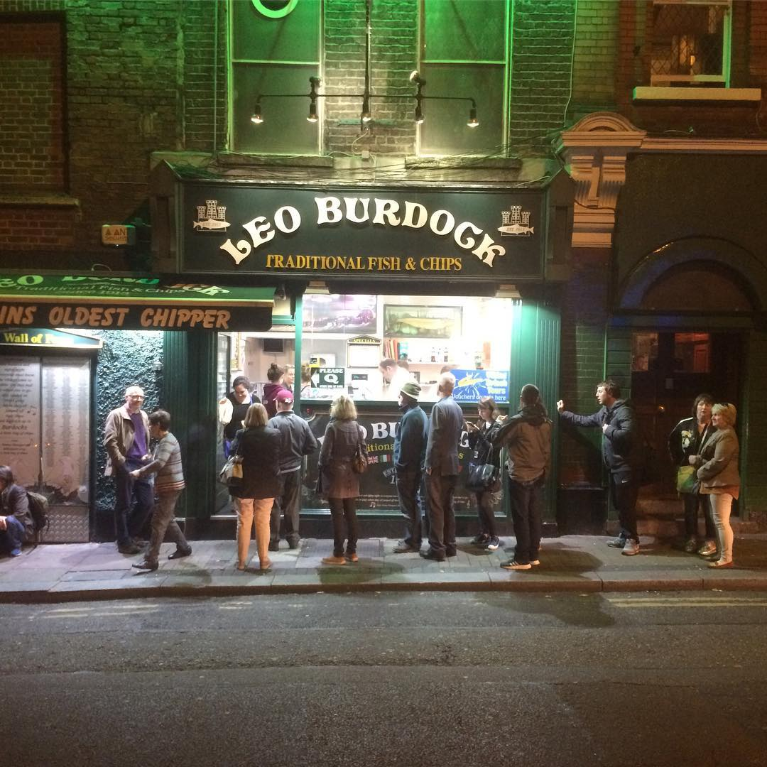 Leo Burdock is one of the best place for Fish and Chips in Dublin.