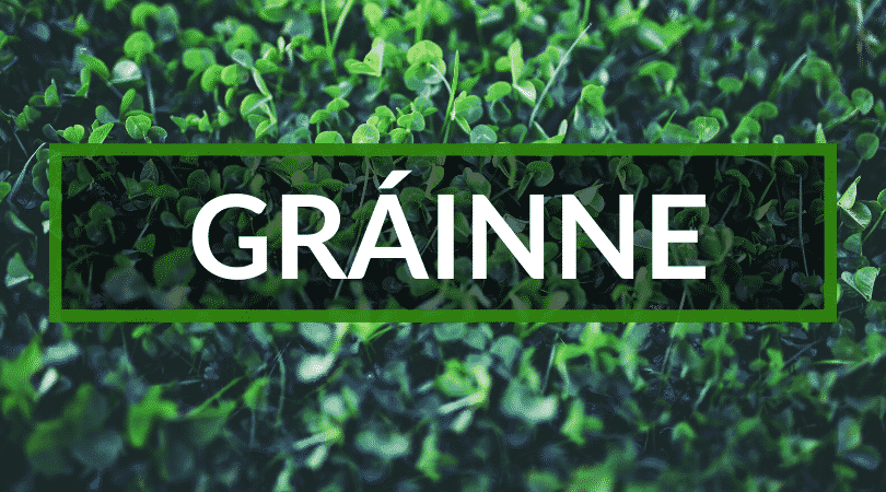 Gráinne is a great name and means love and charm. It's also another of the top weird Irish names.