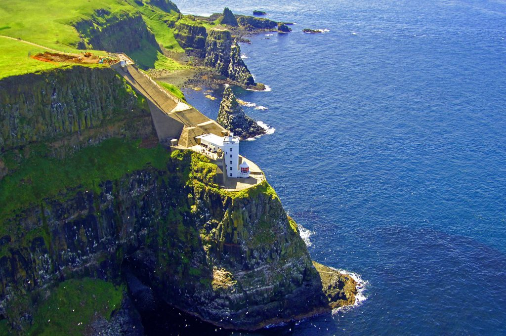 Antrim's Rathlin Island was the first location Vikings invaded in Ireland.