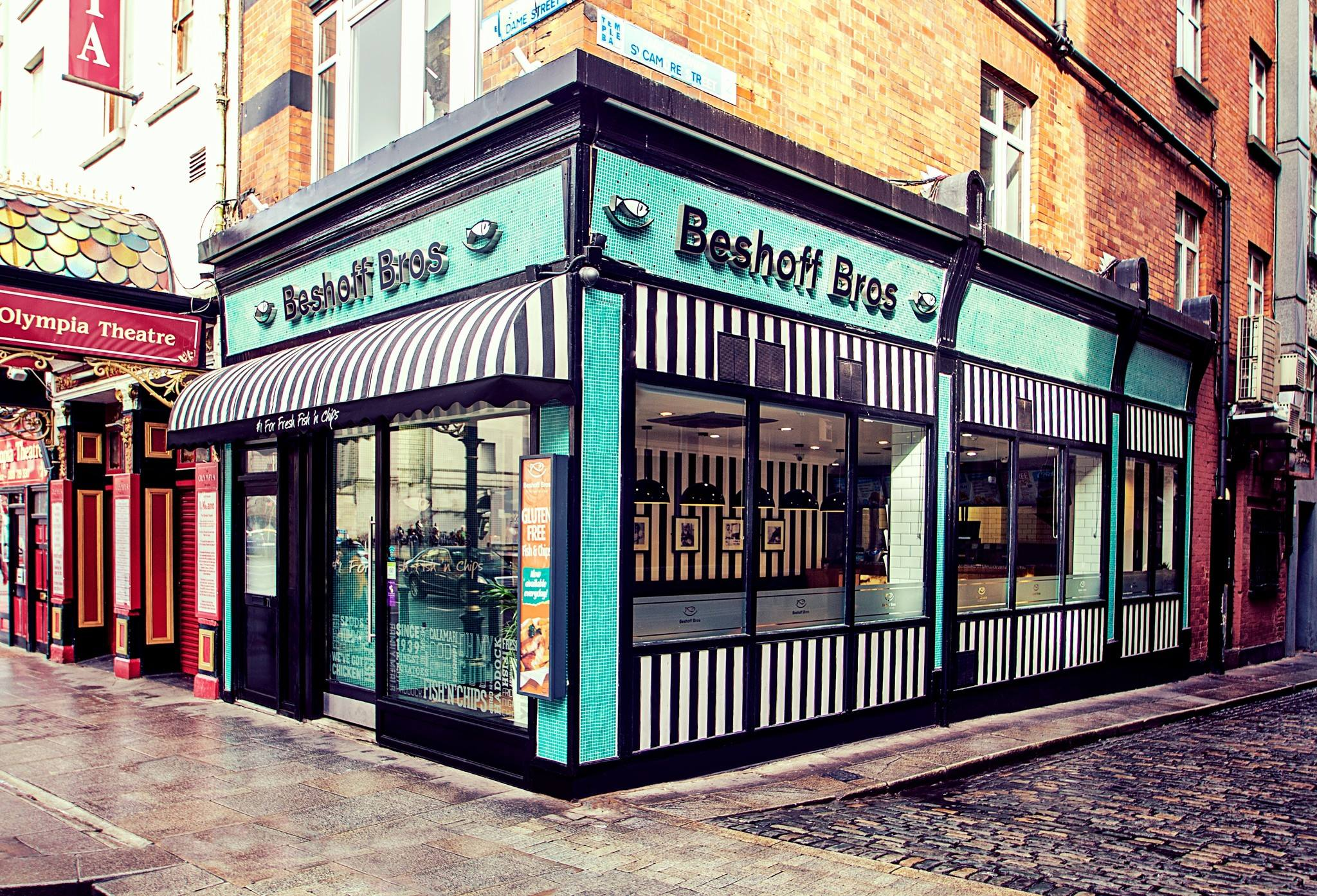 Beshoff Bros is one of the five best places for Fish and Chips in Dublin.