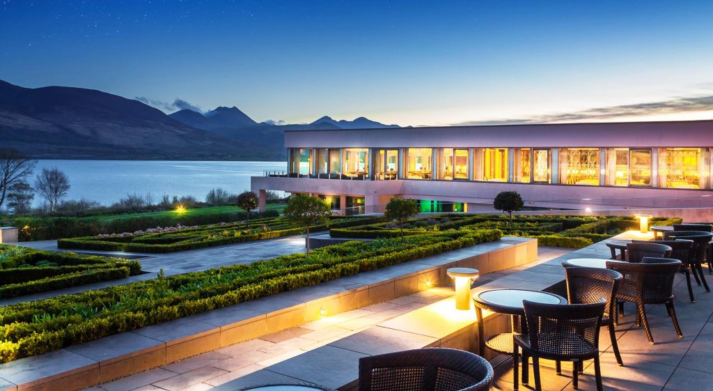 The Europe Hotel and Resort is one of the ten snazziest hotels in Ireland