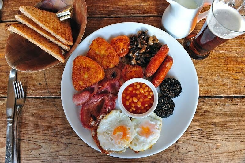 Dublin offers some great hangover cures, including cafes with a full Irish breakfast