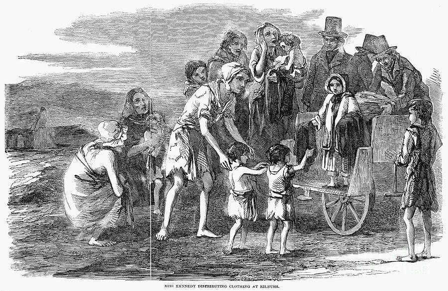 Try to avoid the Great Famine, another of the social taboos of Ireland that had better be avoided.