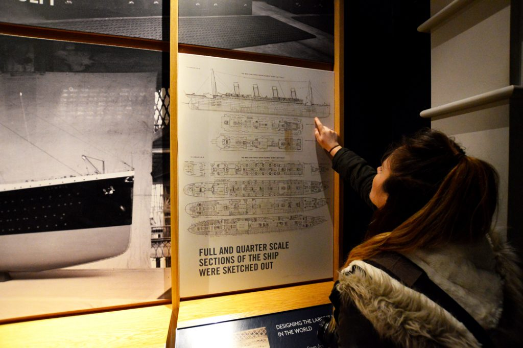 Titanic Belfast visitors can see design plans for the ship