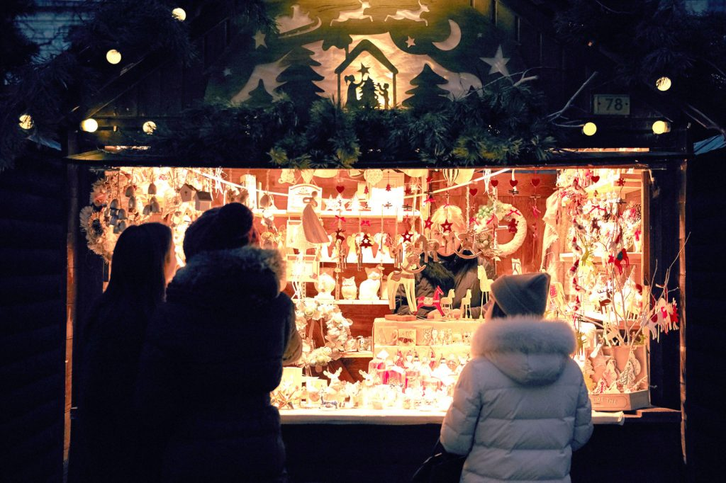 The Wicklow Christmas Market is one of the best Christmas markets in Ireland this year