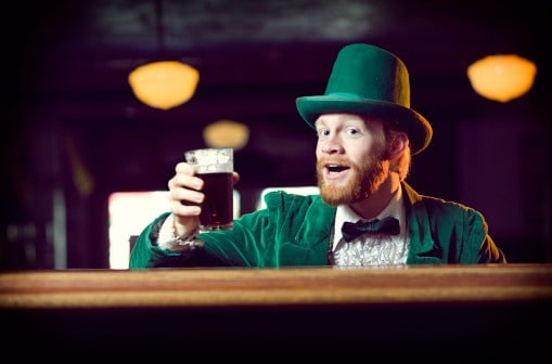 One of the top funny Irish sayings is: If you're lucky enough to be Irish, then you're lucky enough.