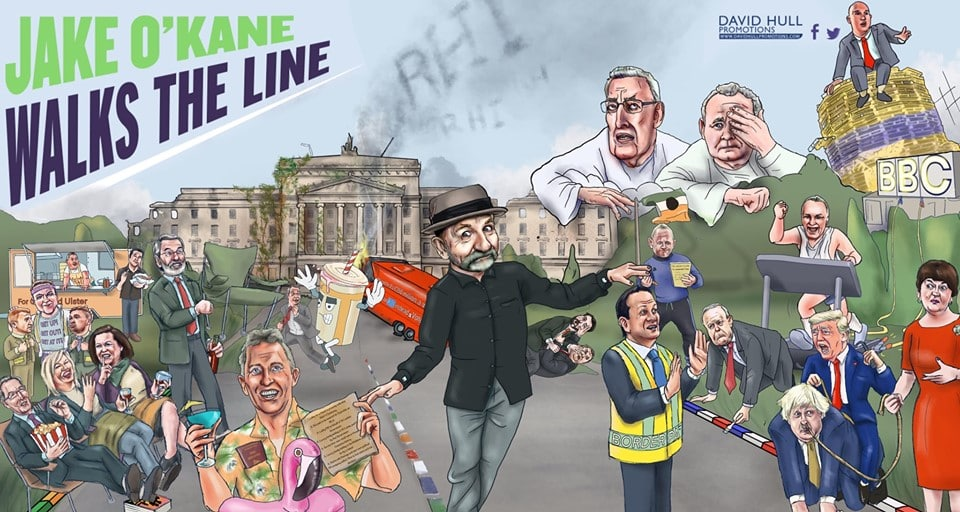 Jake OKane Walks the Line is one of 10 unmissable events in Ireland this December
