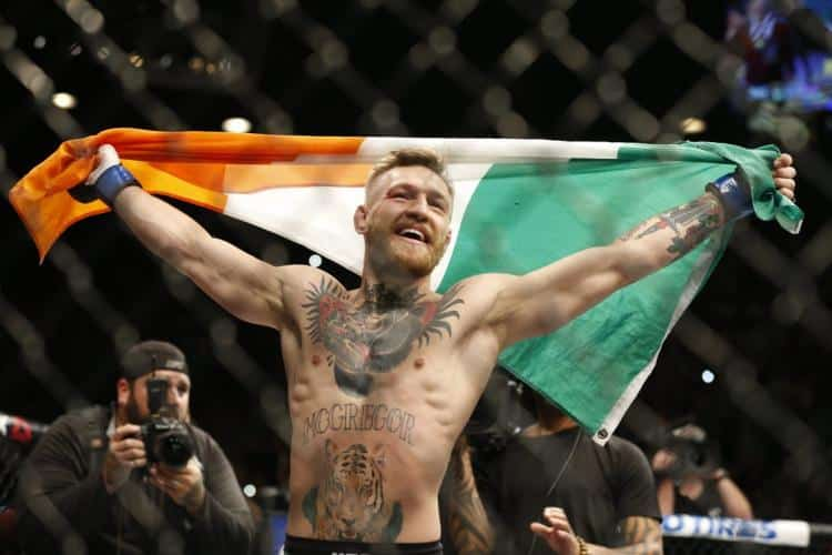 Conor McGregor is from Dublin