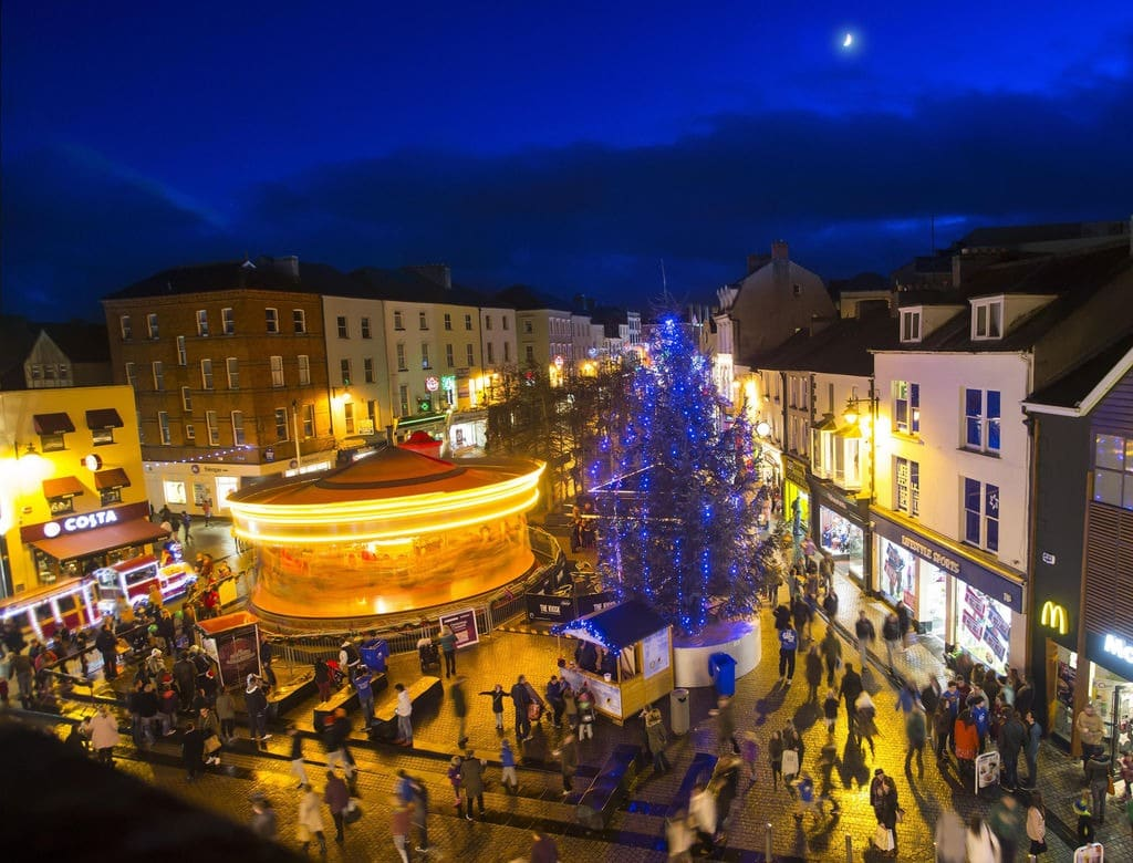 The Winterval festival takes place in the city of Waterford