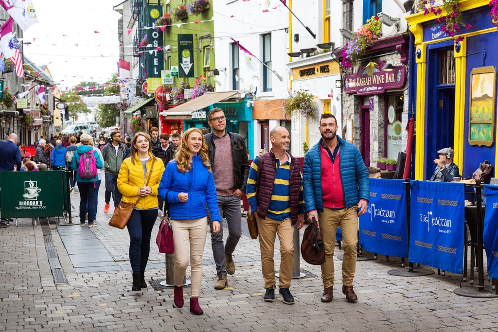Galway's Latin Quarter is exactly where Galway comes alive.