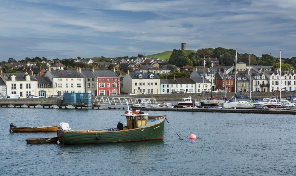 Strangford and Portaferry are such cute little towns.