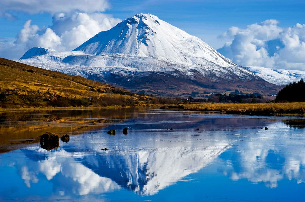 Mount Errigal is another of the top best things to do in Donegal.