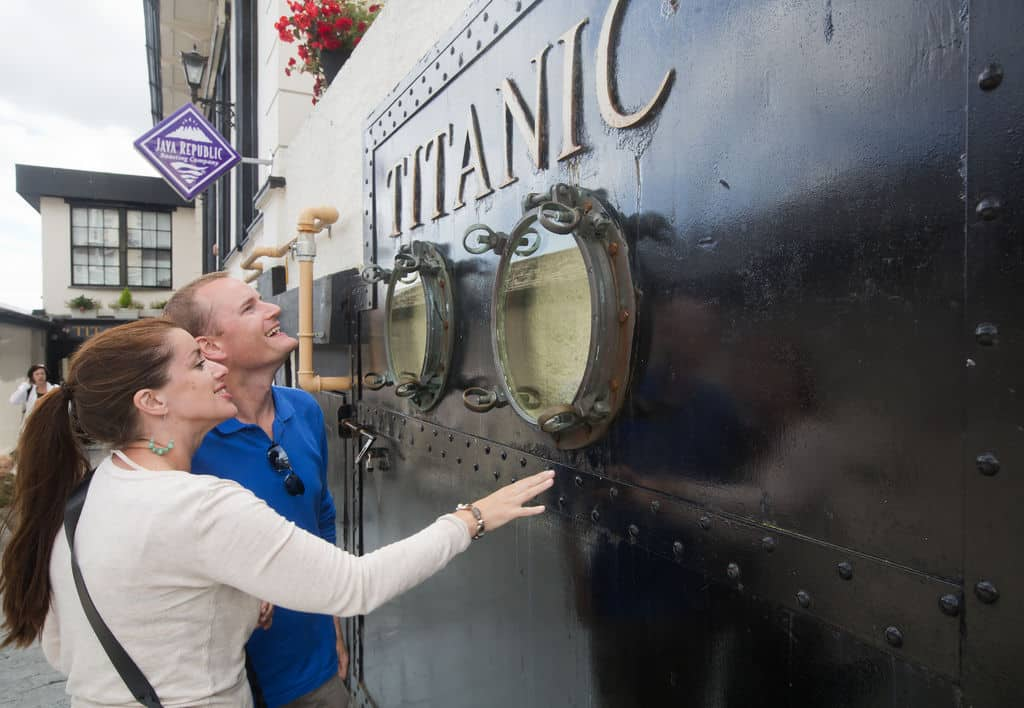 Another of the top things to do in Cork Ireland is visit the Titanic Experience.