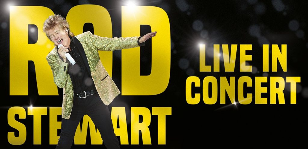 Rod Stewart is one of the top 10 live events this December in Dublin