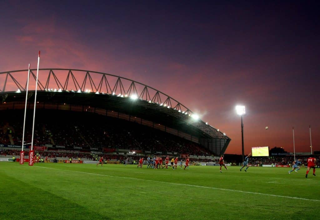 Thomond Park is the top destination for rugby fans.