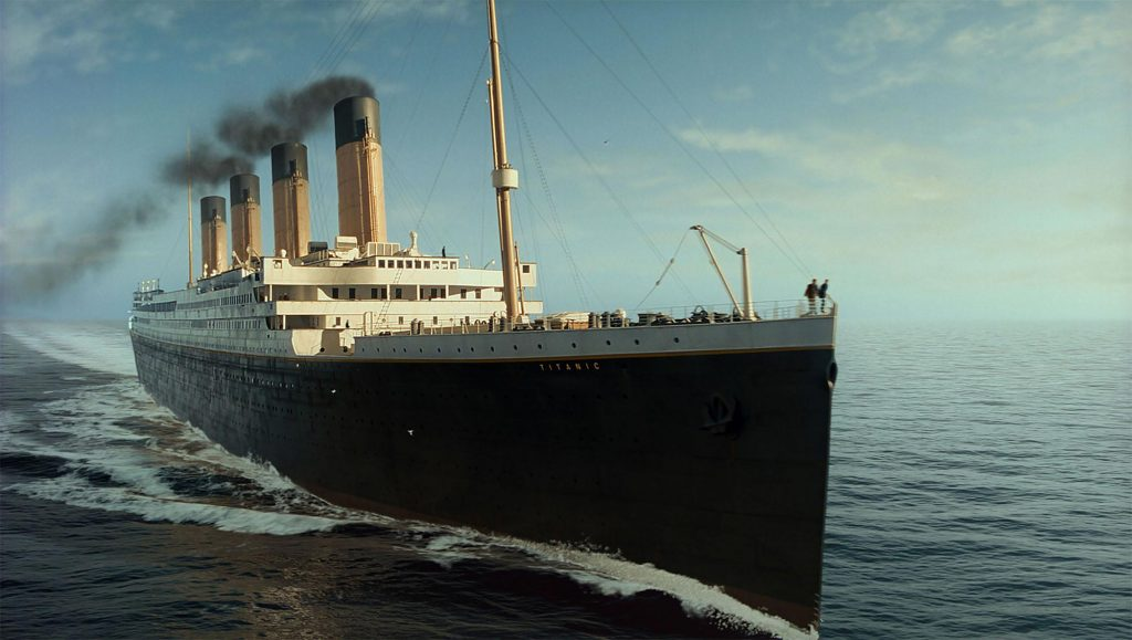 The Titanic is being rebuilt, and you can go on its maiden voyage
