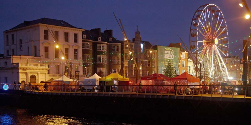Glow Cork is a festive place to celebrate the holiday season