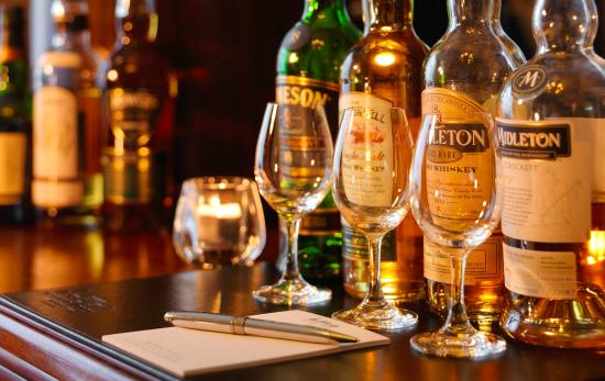 How prohibition in the USA affected Ireland is that it truly formed a whiskey renaissance these days.