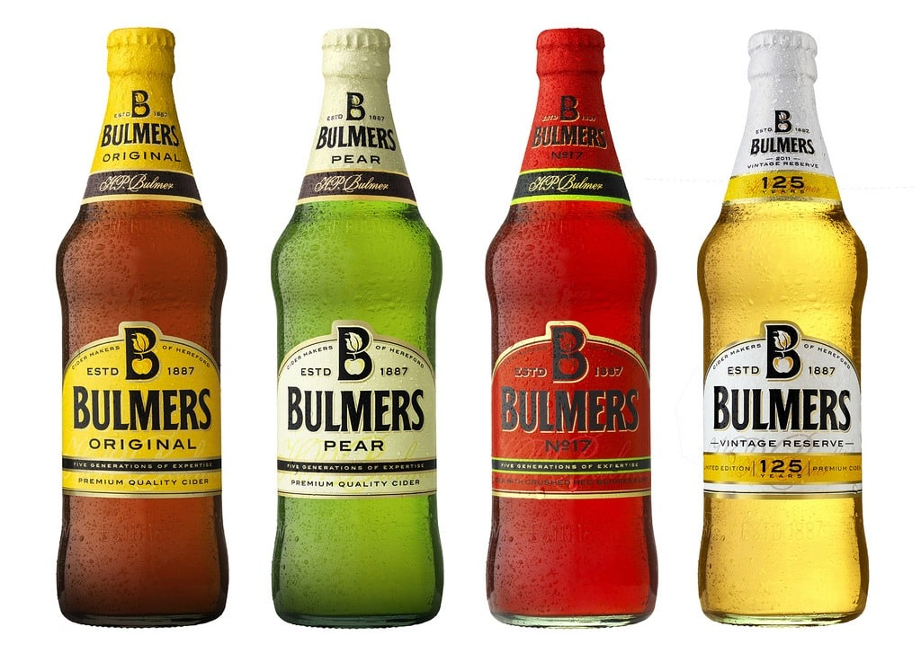 Bulmers is one of the best Irish alcoholic drinks ever.