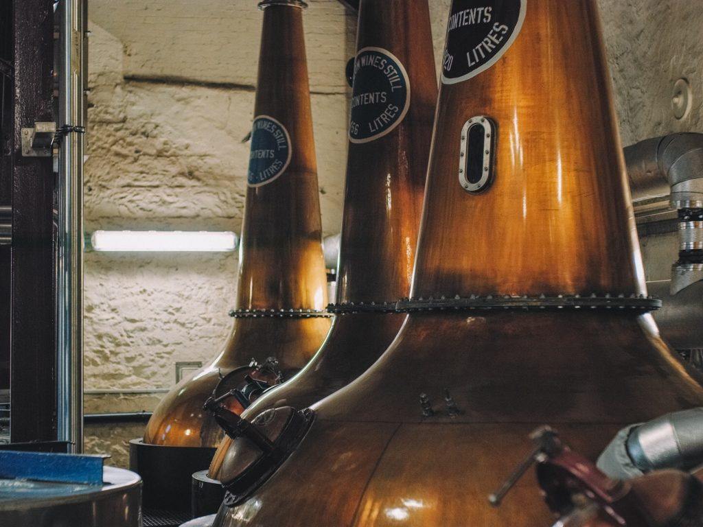 The Bushmills Distillery is another of the best things to do in Antrim.
