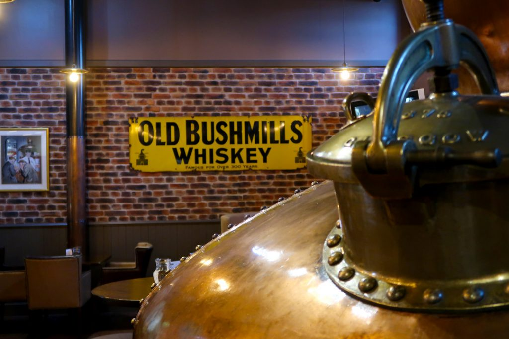 Paying a visit to the Old Bushmills Distillery is another of the top places to visit in Ireland.