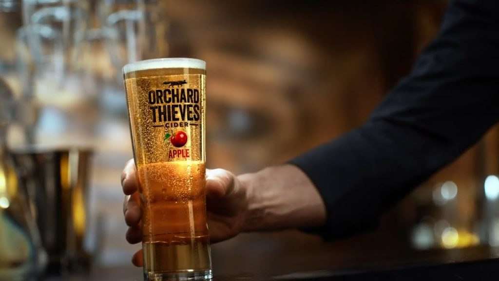Orchard Thieves is a cider built for Irish tastebuds.