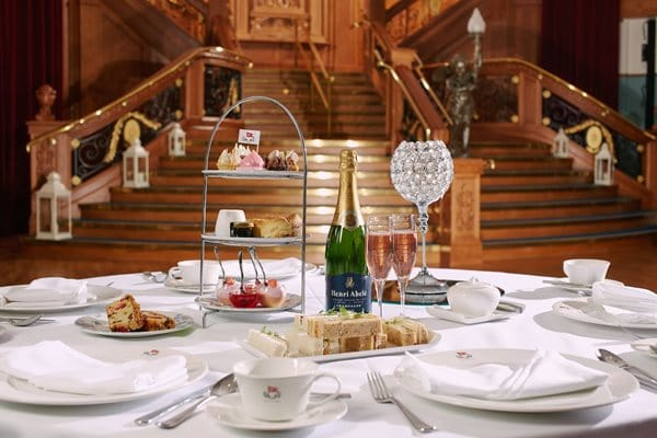 Top 10 places for afternoon tea in Belfast include Titanic Belfast