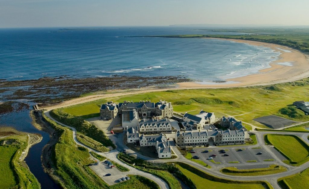 Trump International is one of the best hotels with incredible views in Ireland.