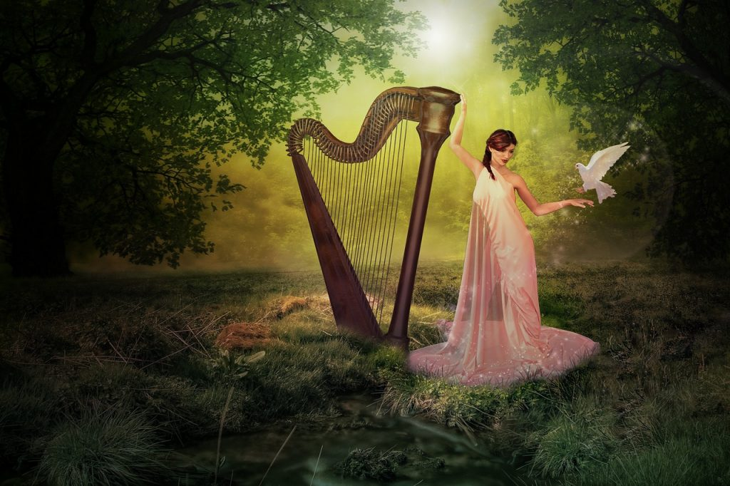 The harp of Dagda is another of the myths and legends from Irish folklore you need to know.