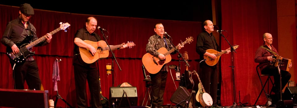The Fureys gig in Portlaoise is one of the top 10 events in Ireland this January