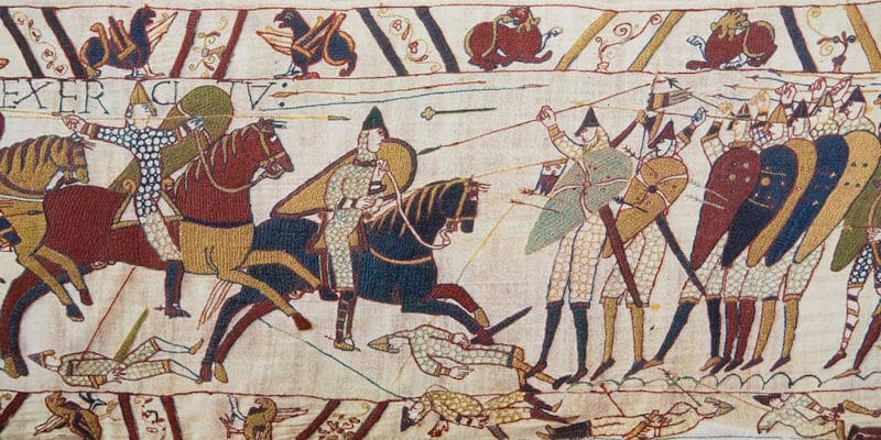 The Norman Invasion marked the beginning of a new rule.