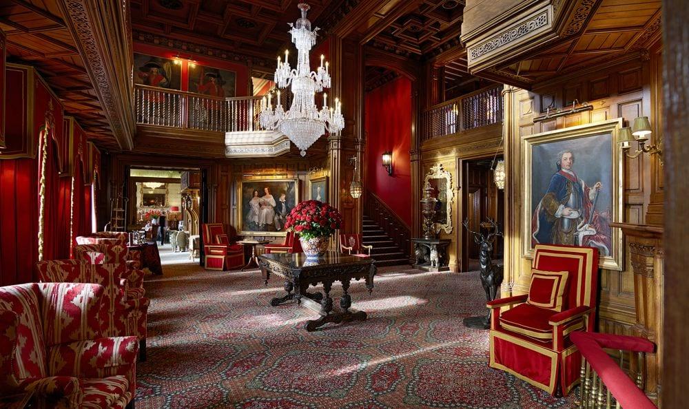 Ashford Castle in County Mayo is a luxury retreat