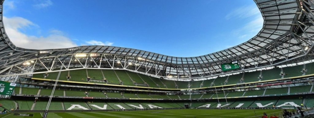 The Aviva Stadium is the home of Irish soccer and rugby and is one of the best Sports Stadiums in Ireland.