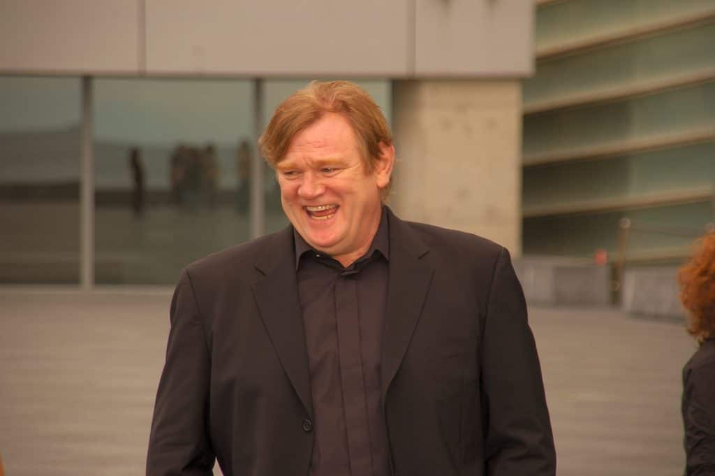 Gleeson is as well-known as his son for films.
