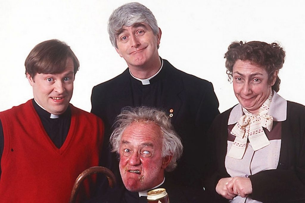 Father Ted is a beloved Irish TV show