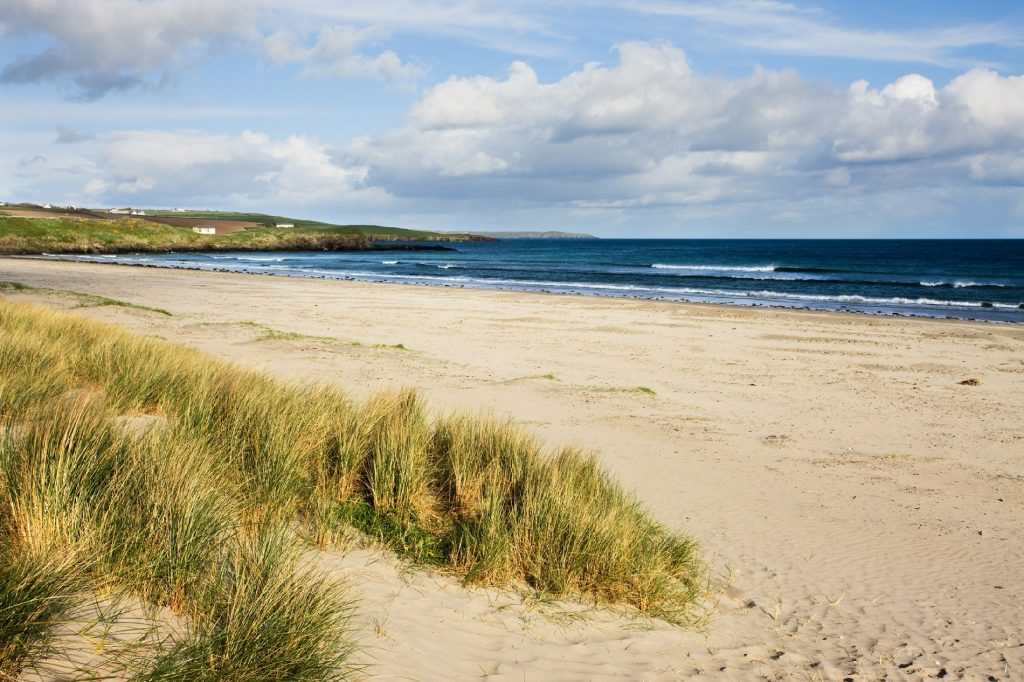 Ireland beaches aren't complete without Incydoney Beach.