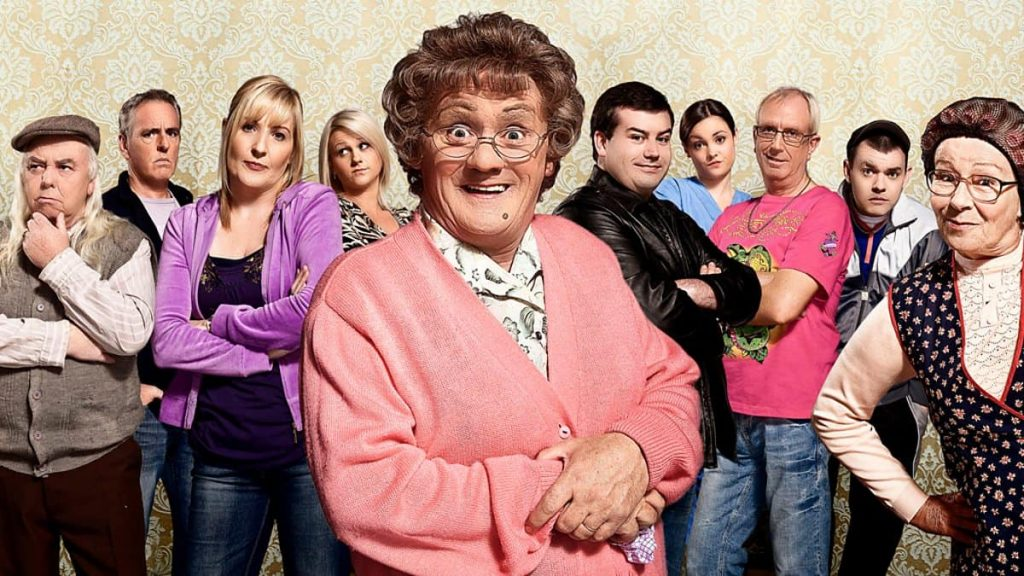Mrs Brown's Boys is hilarious and another of the best Irish TV shows.