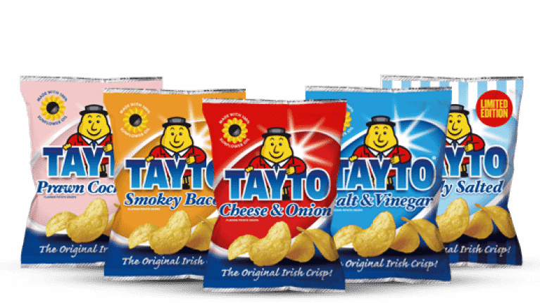 Today Tayto is one of Ireland's leading crisp brands